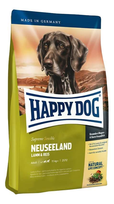 Миниатюра Сухой корм для собак Happy Dog Supreme Sensible Neuseeland, ягненок, рис, 4кг №2