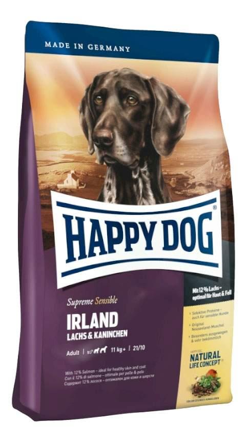 Миниатюра Сухой корм для собак Happy Dog Supreme Sensible Irland, кролик, лосось, 12,5кг №2