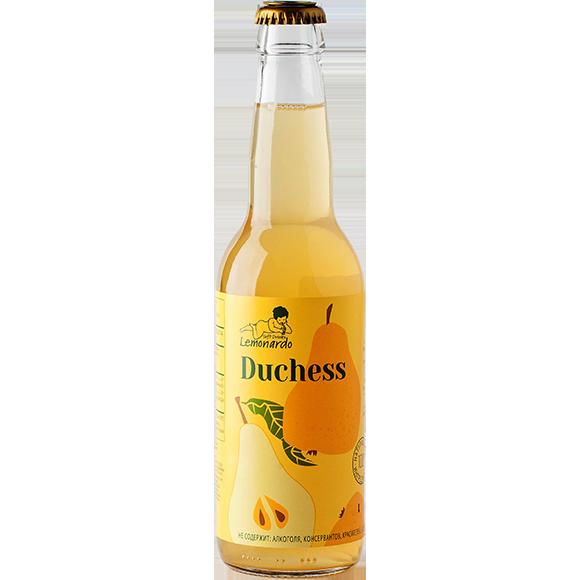 Натуральный грушевый лимонад / Lemonardo Duchess, 330мл. 12шт.