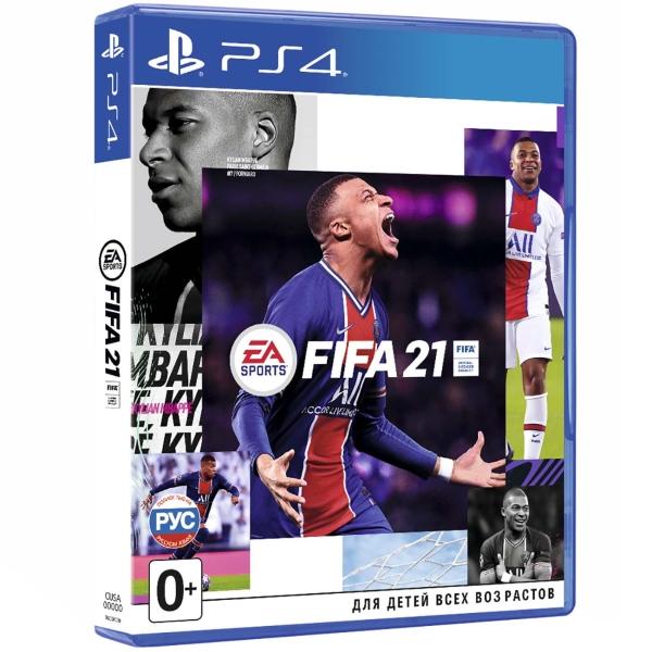 Игра FIFA 21 для PlayStation 4 (включает бесплатное обновление до Playstation 5)