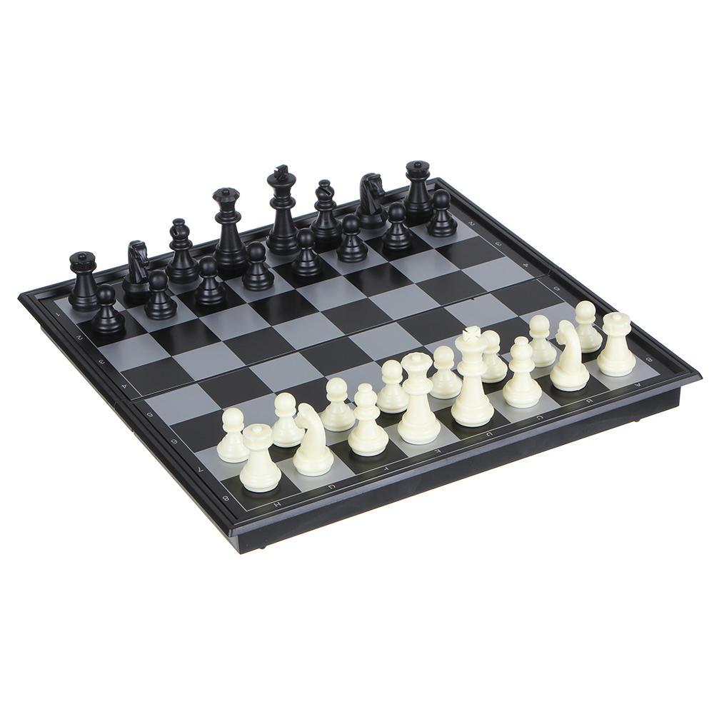 Набор игр 3 в 1 Магнитные шашки, шахматы и нарды SC58810