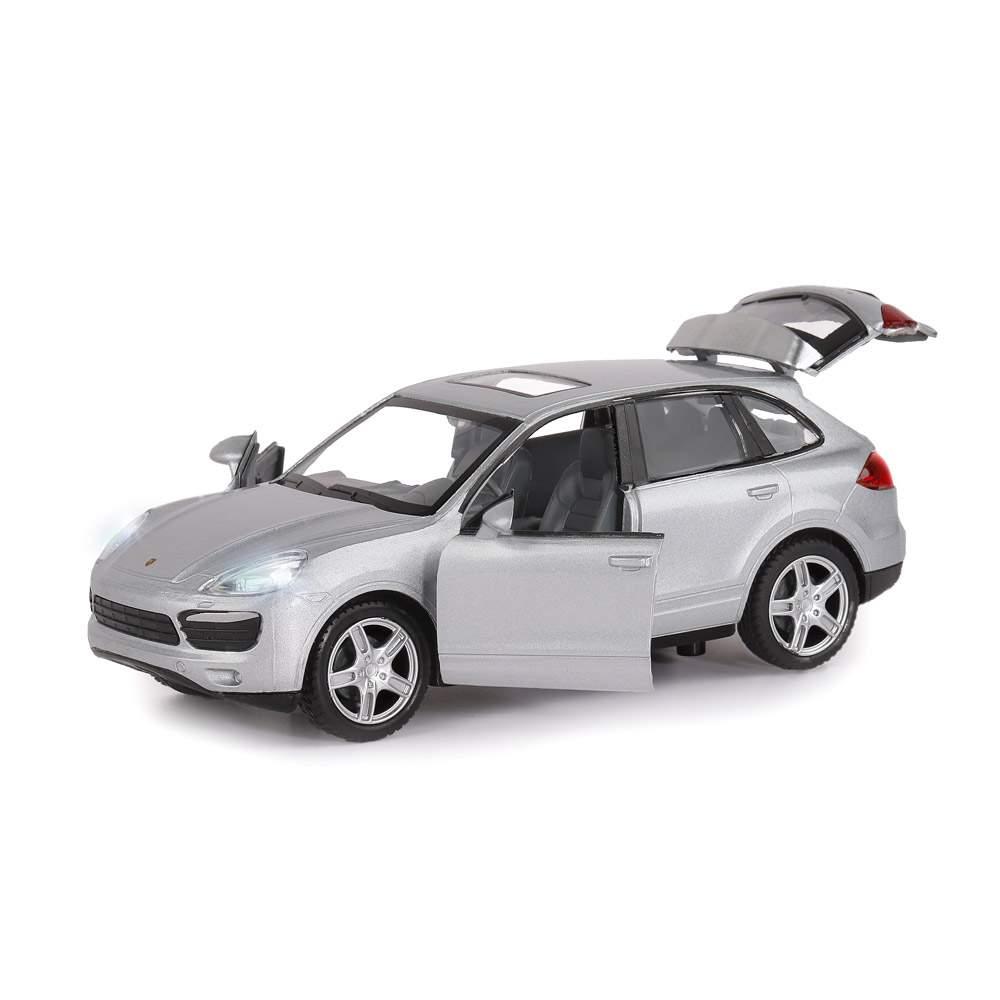 Машинка металлическая Автопанорама Porsche Cayenne S, масштаб 1:32