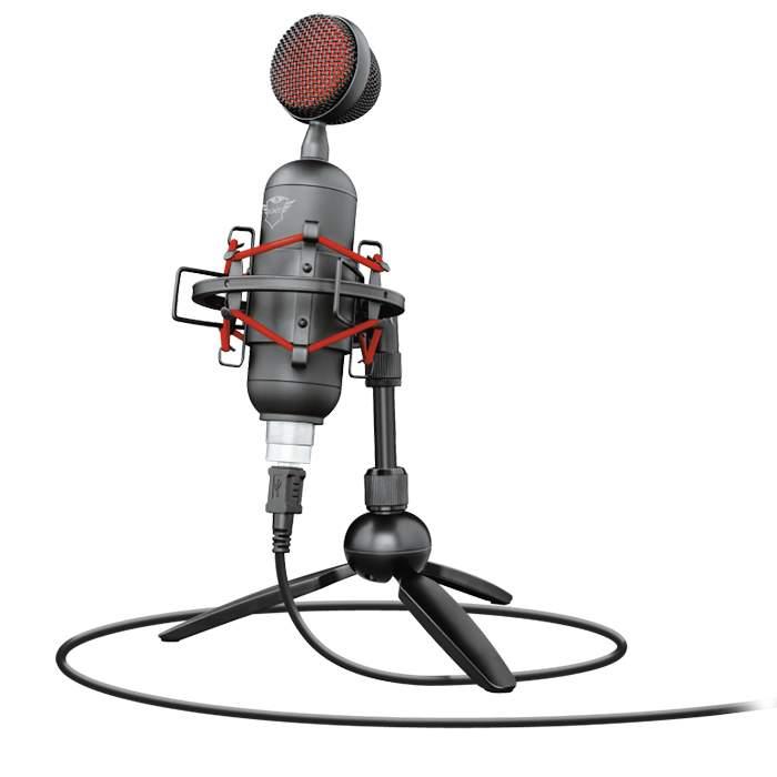 Микрофон для компьютера Trust GXT 244 Buzz USB Streaming Microphone