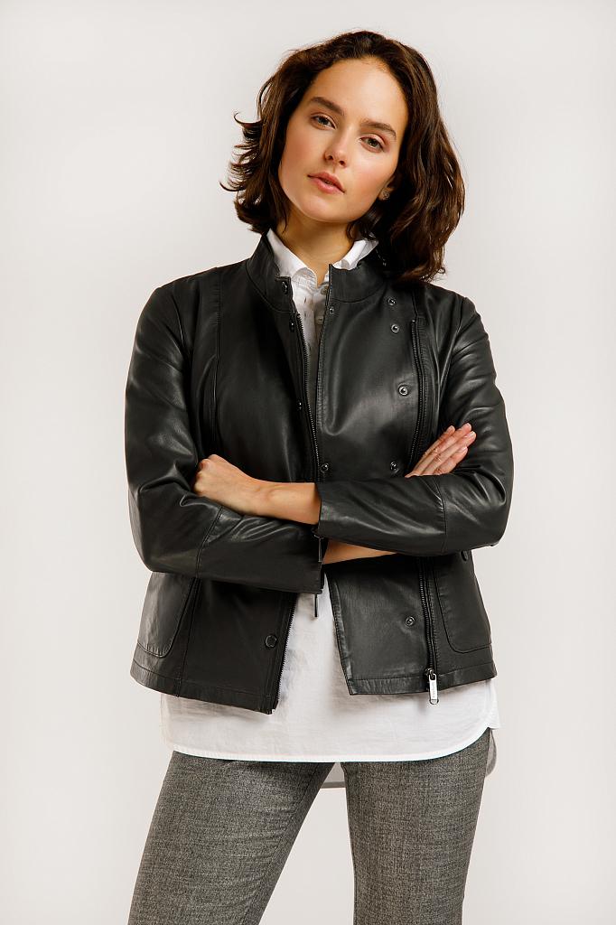 какие сейчас в моде кожаные куртки фото короткий