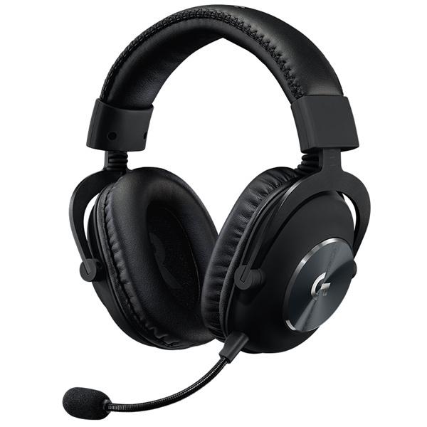 Миниатюра Игровая гарнитура Logitech G PRO X Black (981-000818) №1