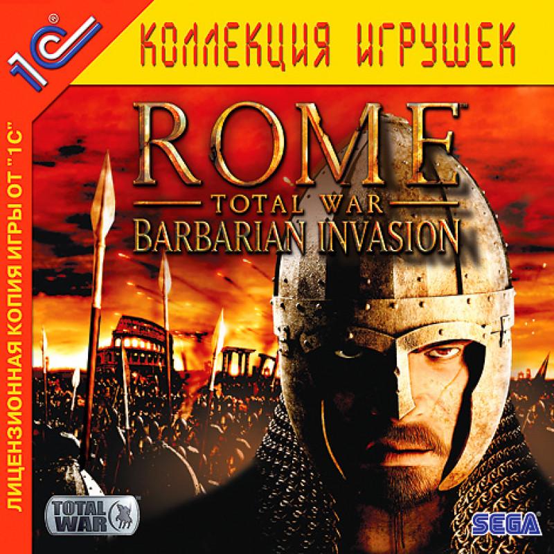 Игра Rome Total War - Barbarian Invasion для PC