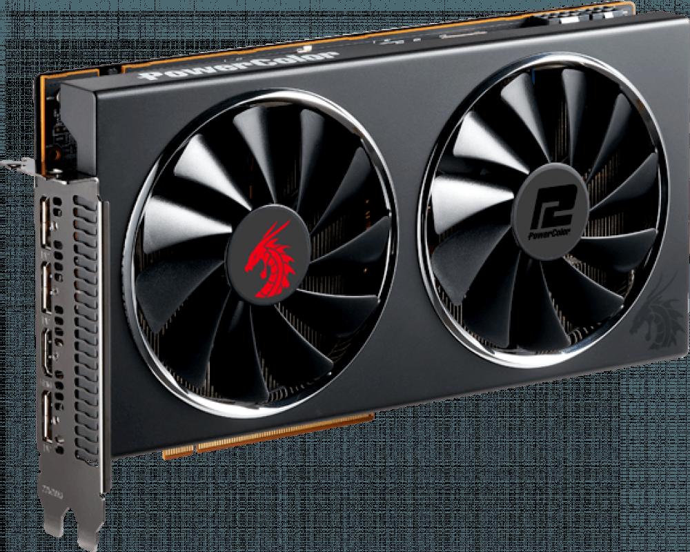 Видеокарта PowerColor Red Dragon AMD Radeon RX 5700XT (AXRX 5700XT 8GBD6-3DHR/OC)