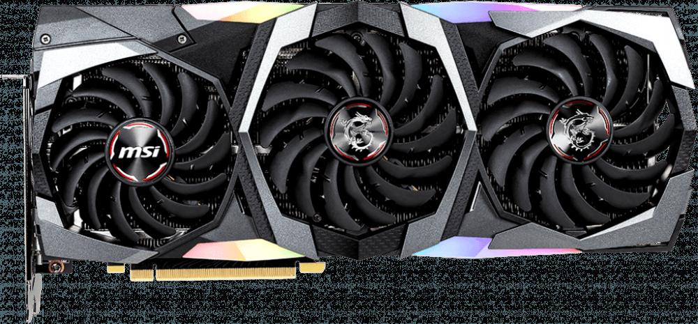 Видеокарта MSI nVidia GeForce RTX 2080 SUPER (RTX 2080 SUPER GAMING TRIO)