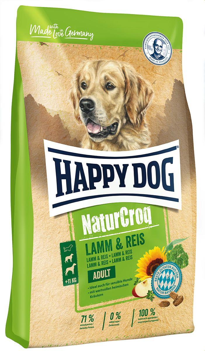 Миниатюра Сухой корм для собак Happy Dog NatureCroq Adult, ягненок, рис, 15кг №3