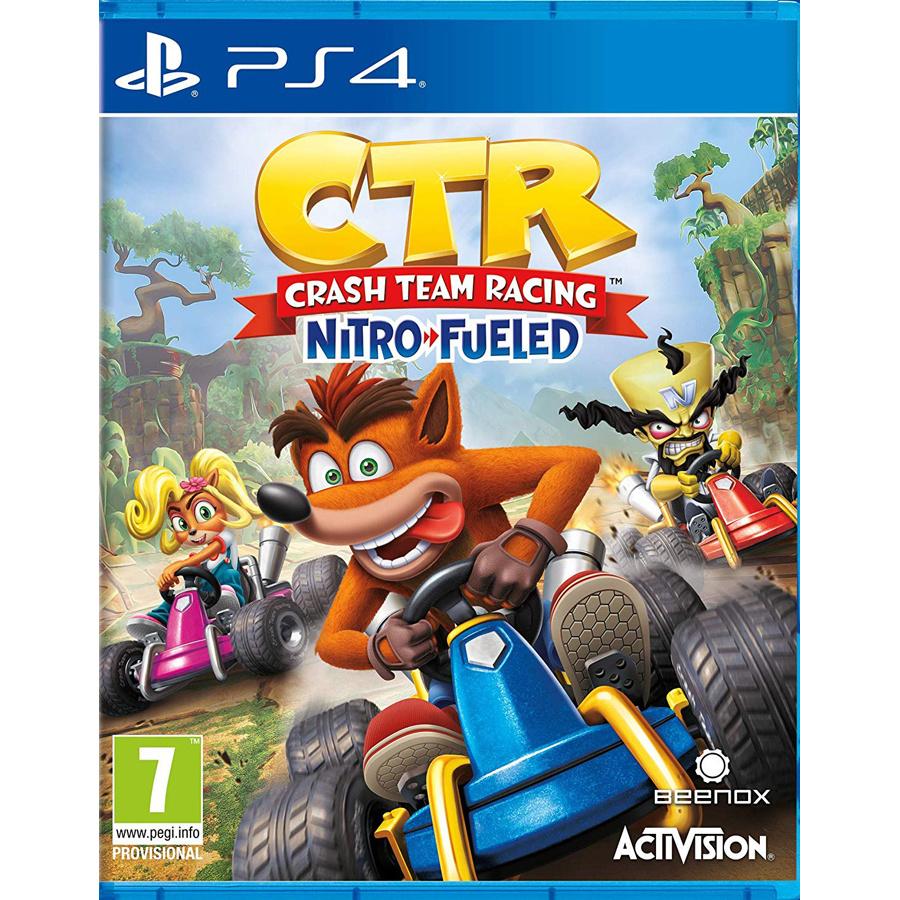 Игра Crash Team Racing Nitro-Fueled для PlayStation 4