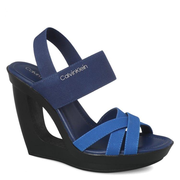 Босоножки женские Calvin Klein YOLANDA синие 39 EU