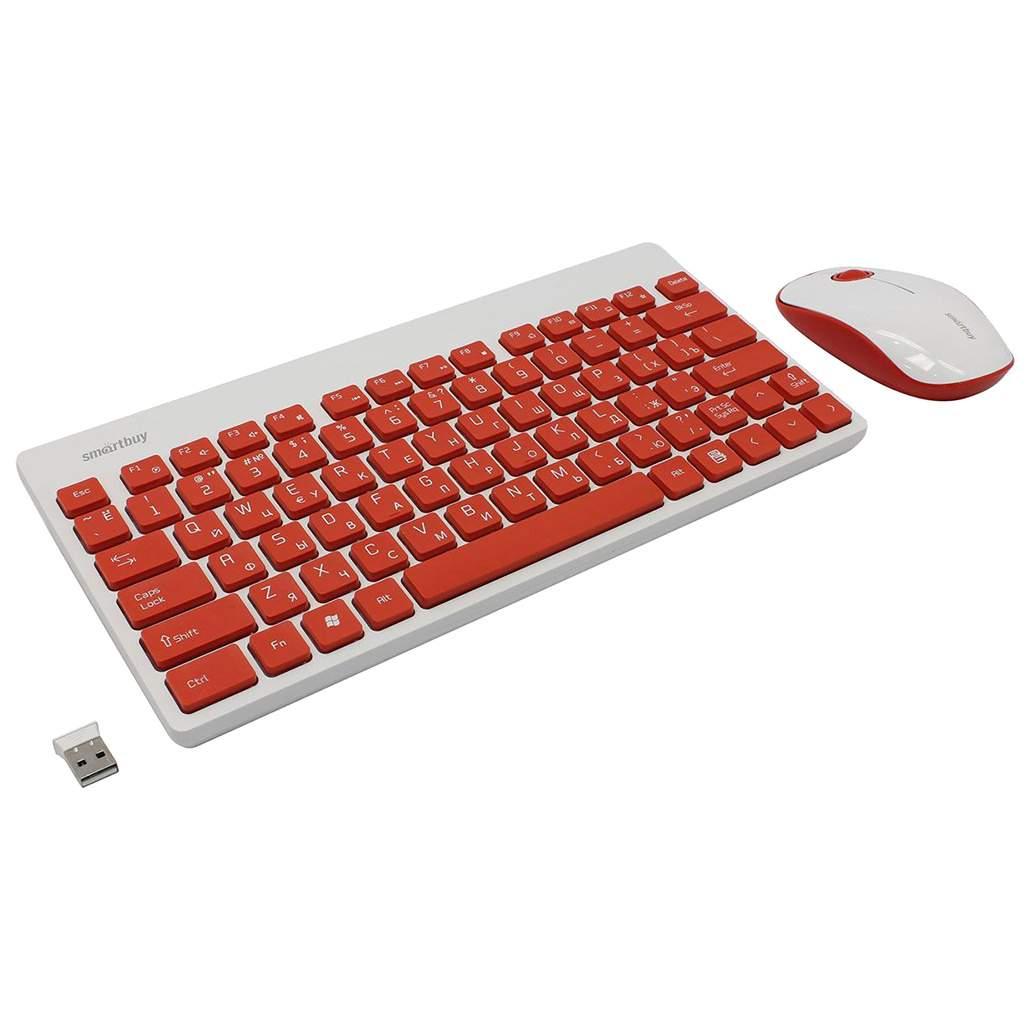 Комплект клавиатура и мышь Smartbuy SBC-220349AG-RW
