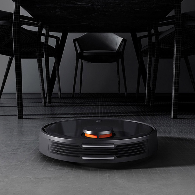 Робот-пылесос Xiaomi Mijia Robot Vacuum Cleaner LDS Version (STYJ02YM) Black CN