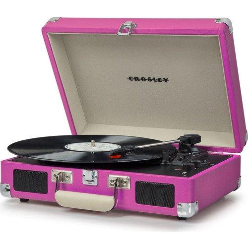 Проигрыватель виниловых пластинок Cruiser Delux Pink
