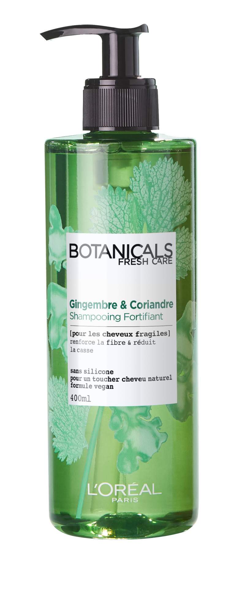 """Миниатюра Шампунь L'Oreal Paris """"Botanicals. Кориандр"""" для ломких волос, укрепляющий №1"""
