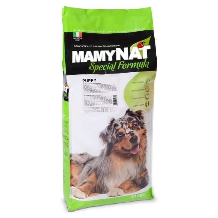 Сухой корм для щенков MamyNAT Puppy, говядина, курица, свинина,  20кг