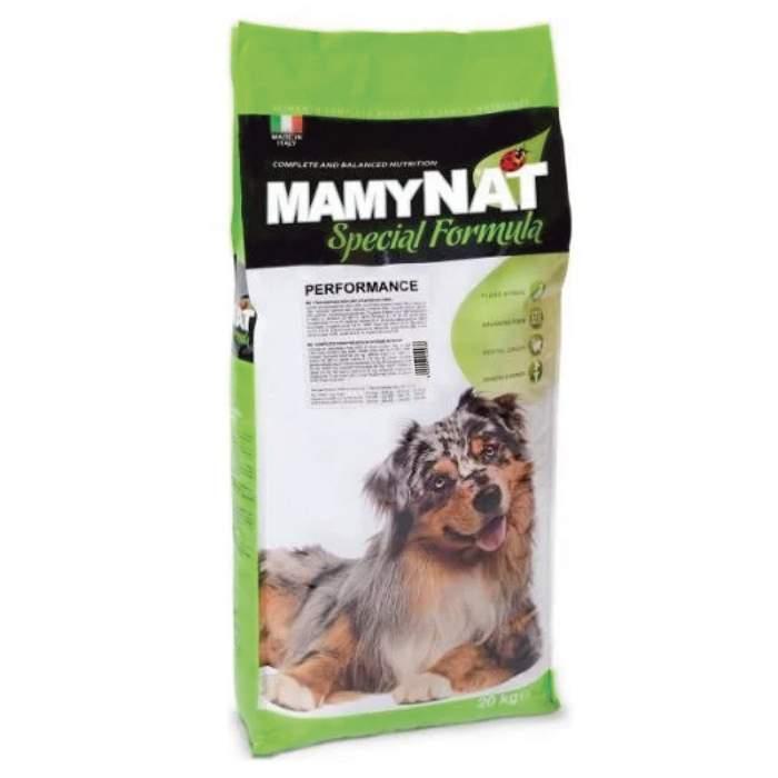Сухой корм для собак MamyNAT Performance для активных, говядина, курица, свинина,  20кг