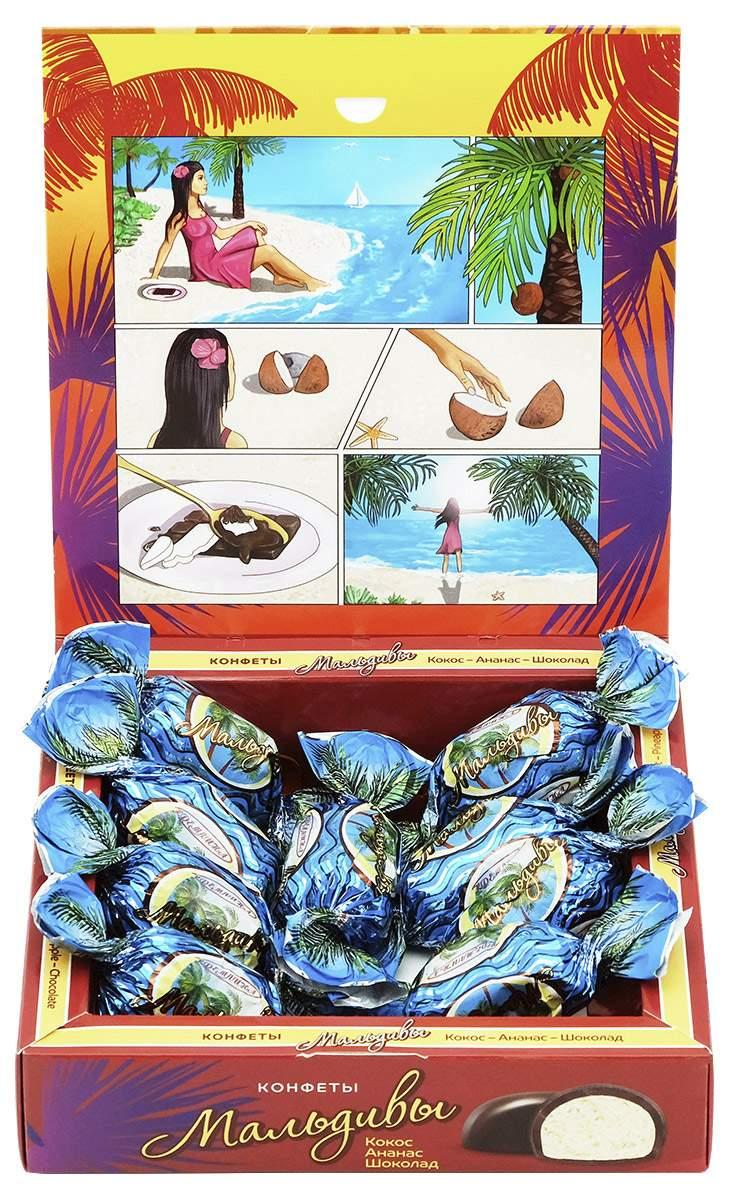 Миниатюра Конфета Кремлина с мякотью кокоса Мальдивы 240 г №2