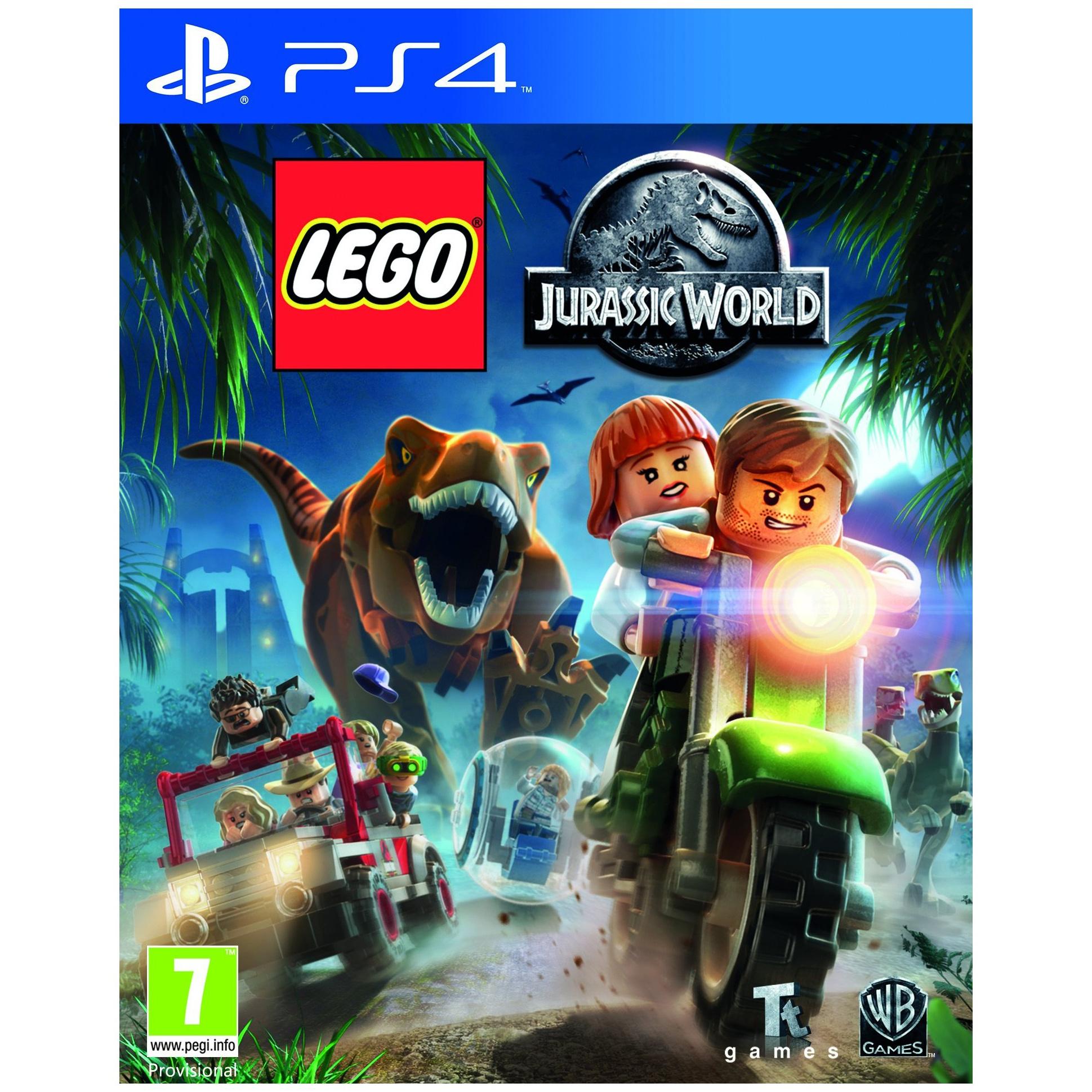 Игра LEGO Мир Юрского Периода для PlayStation 4