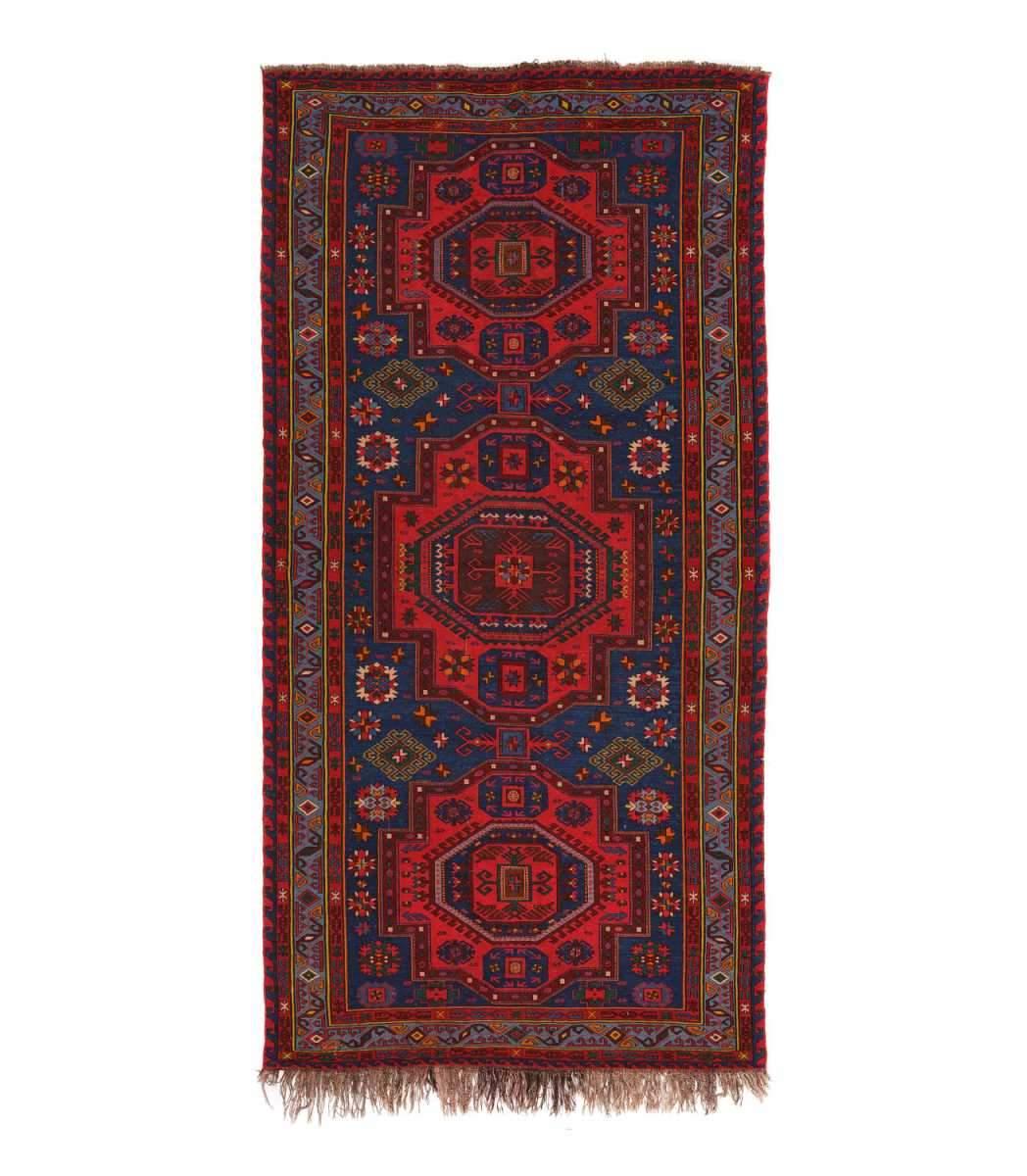 Винтажный Азербайджанский Ковер Orazbai Collection «Сундук»