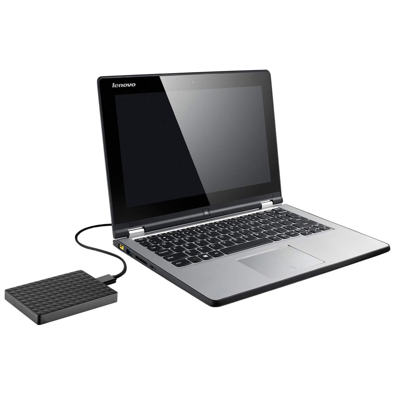 Миниатюра Внешний диск HDD Seagate Expansion+ 1TB Black (STEF1000401) №4