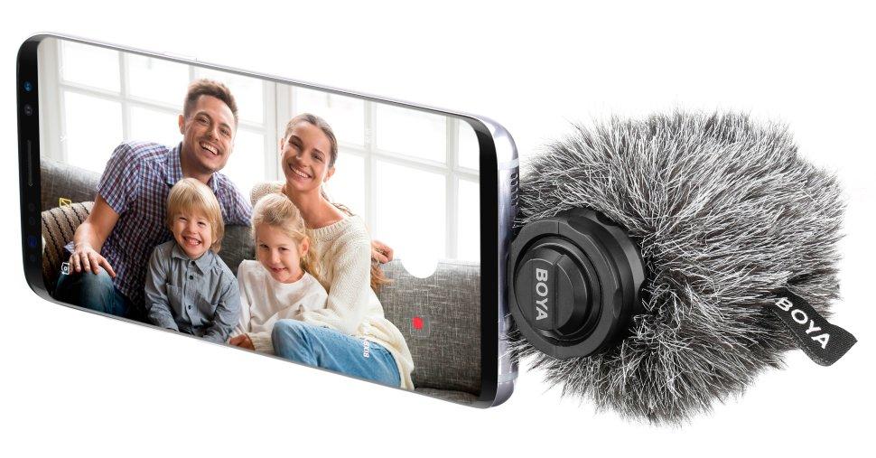 Микрофон Boya BY-DM100 для устройств Android