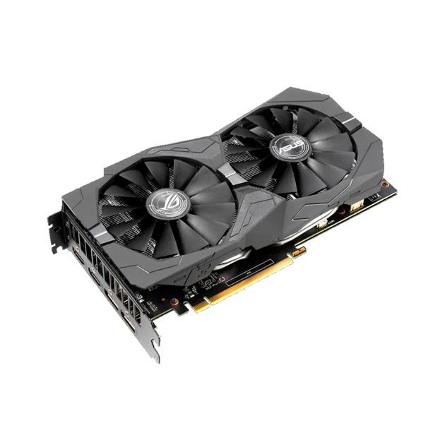 Видеокарта ASUS ROG Strix nVidia GeForce GTX 1650 (ROG-STRIX-GTX1650-A4G-GAMING)