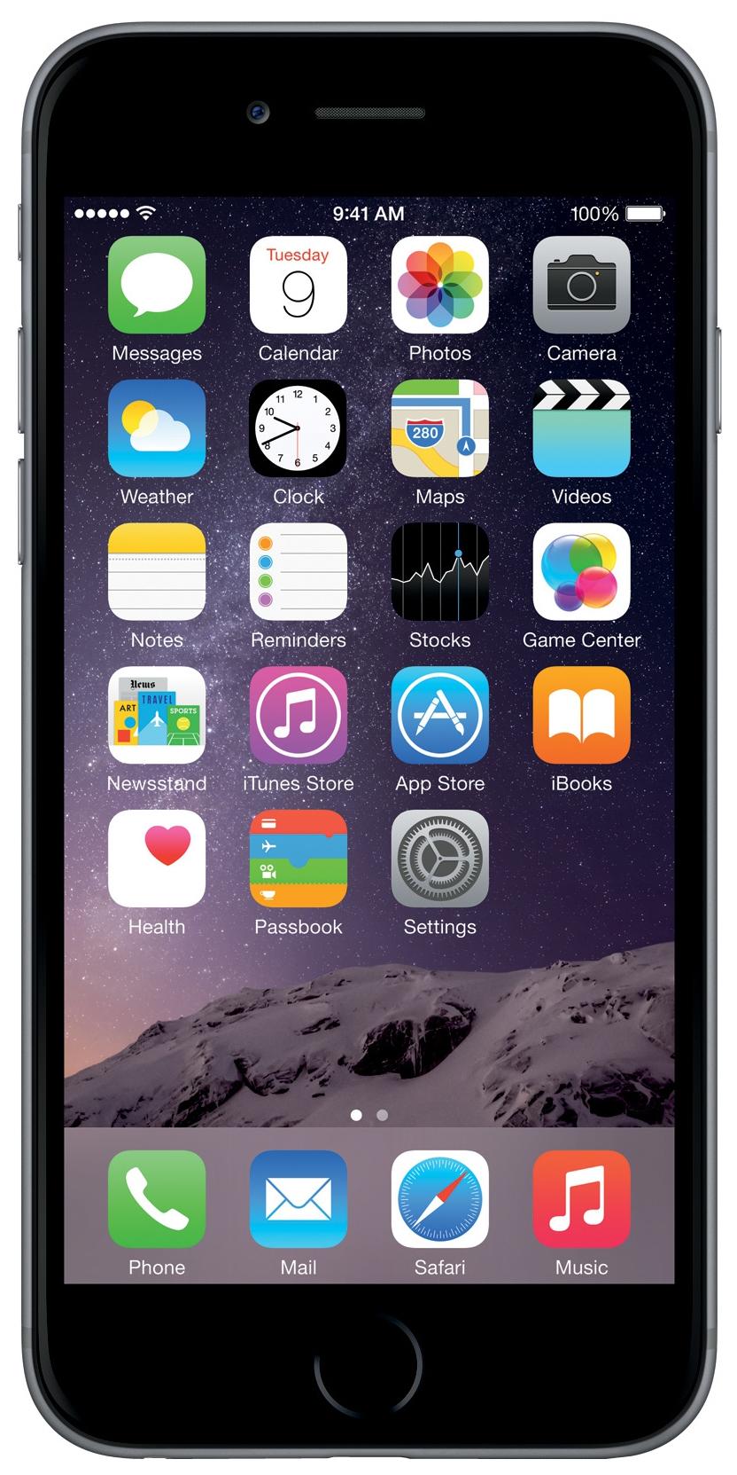 Смартфон Apple iPhone 6s 32GB Space Grey (MN0W2RU/A)