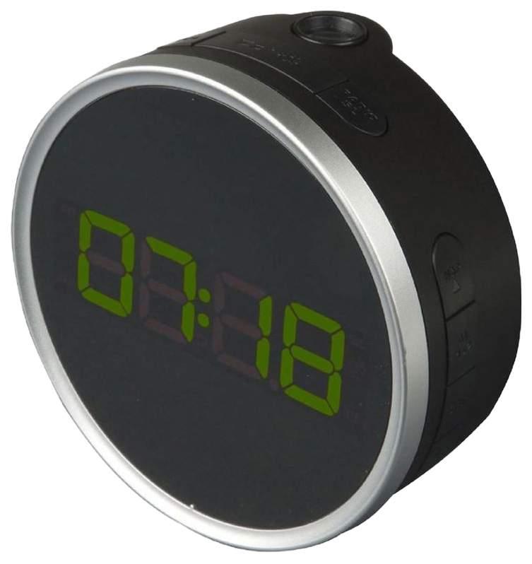Радио-часы BVItech BV-499GPL Черный Зеленый