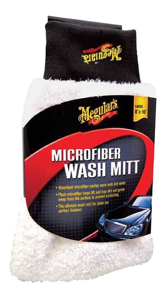 Рукавица для мытья из микрофибровой ткани Microfiber Wash Mitt 20х25 см X3002EU