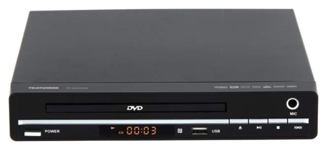 DVD-плеер Telefunken TF-DVD5100 Black
