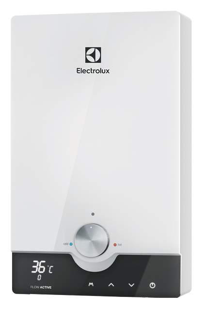 Водонагреватель проточный Electrolux NPX 8 Flow Active 2.0 white/black