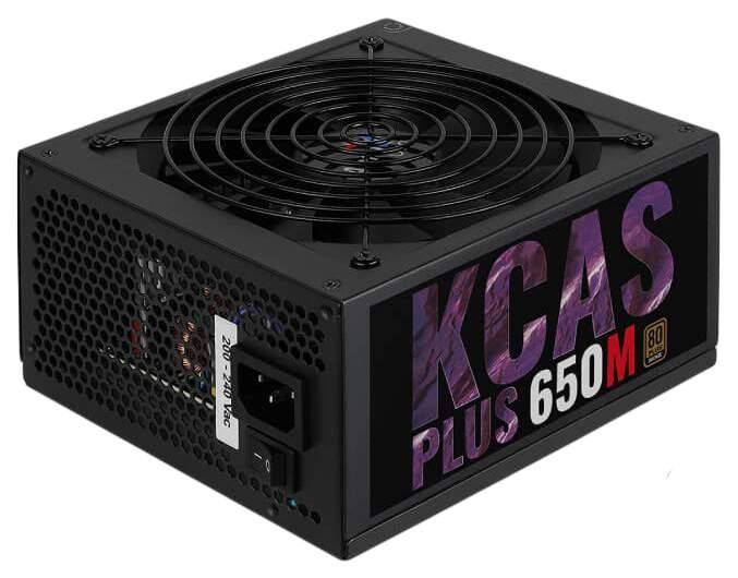 Блок питания компьютера Aerocool KCAS PLUS 650W