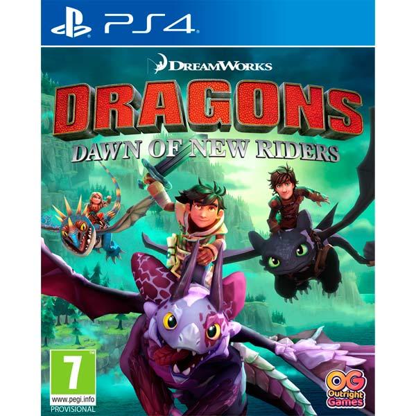 Игра Dragons Dawn of New Riders для PlayStation 4