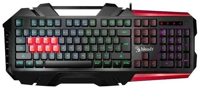 Игровая клавиатура A4Tech Bloody B3590R Black