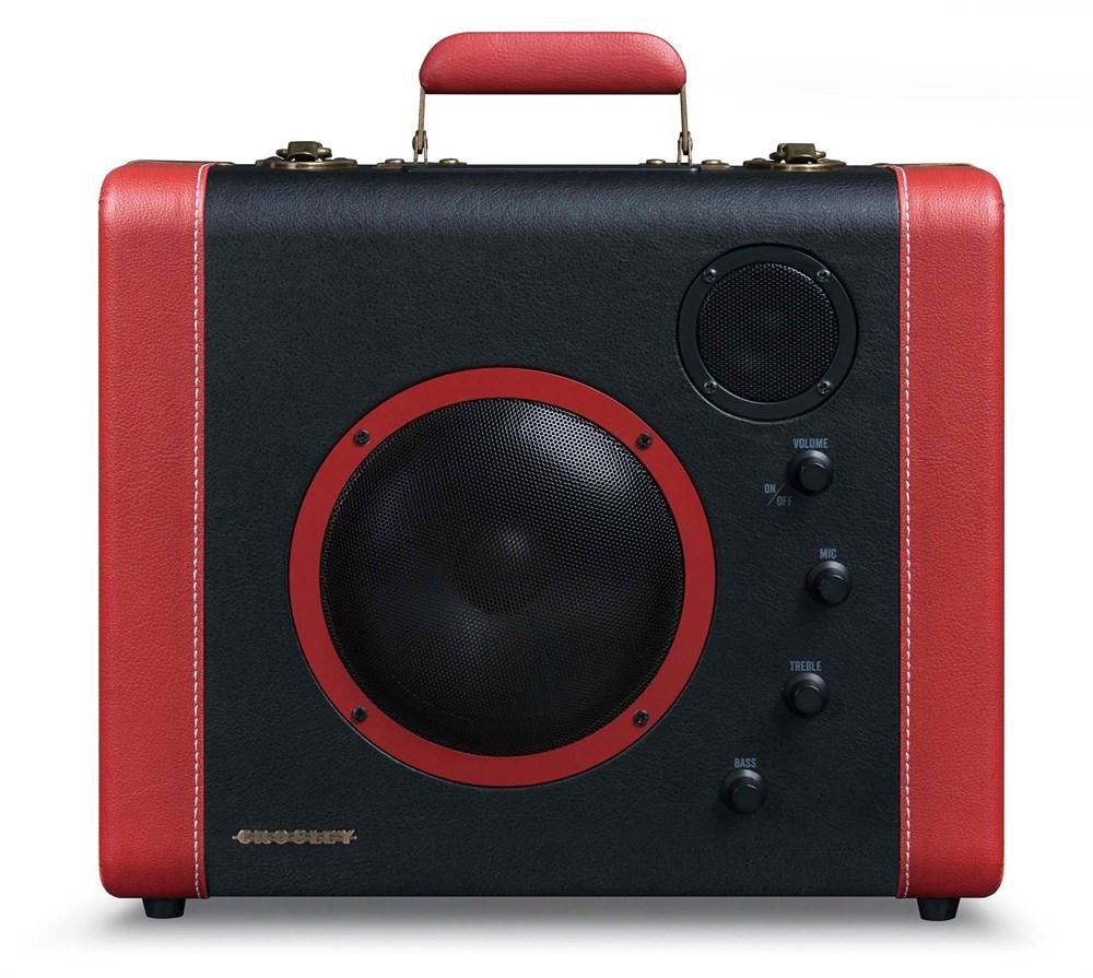 Проигрыватель виниловых пластинок Crosley Soundbomb CR8008A-BK Black