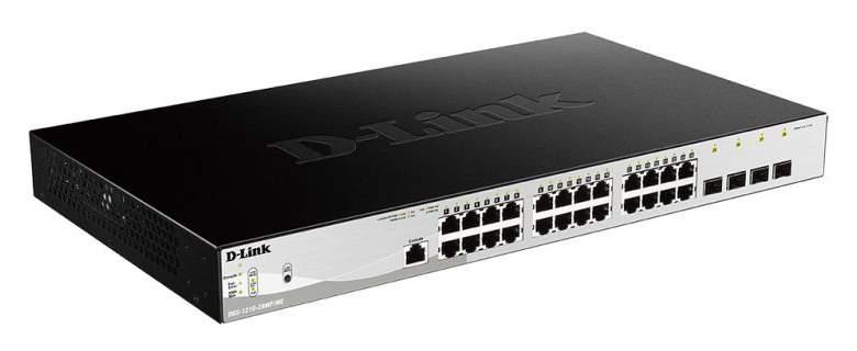 Коммутатор D-Link DGS-1210-28MP/ME/B1A Black