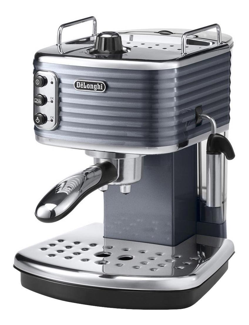 Рожковая кофеварка Delonghi ECZ351.GY Grey