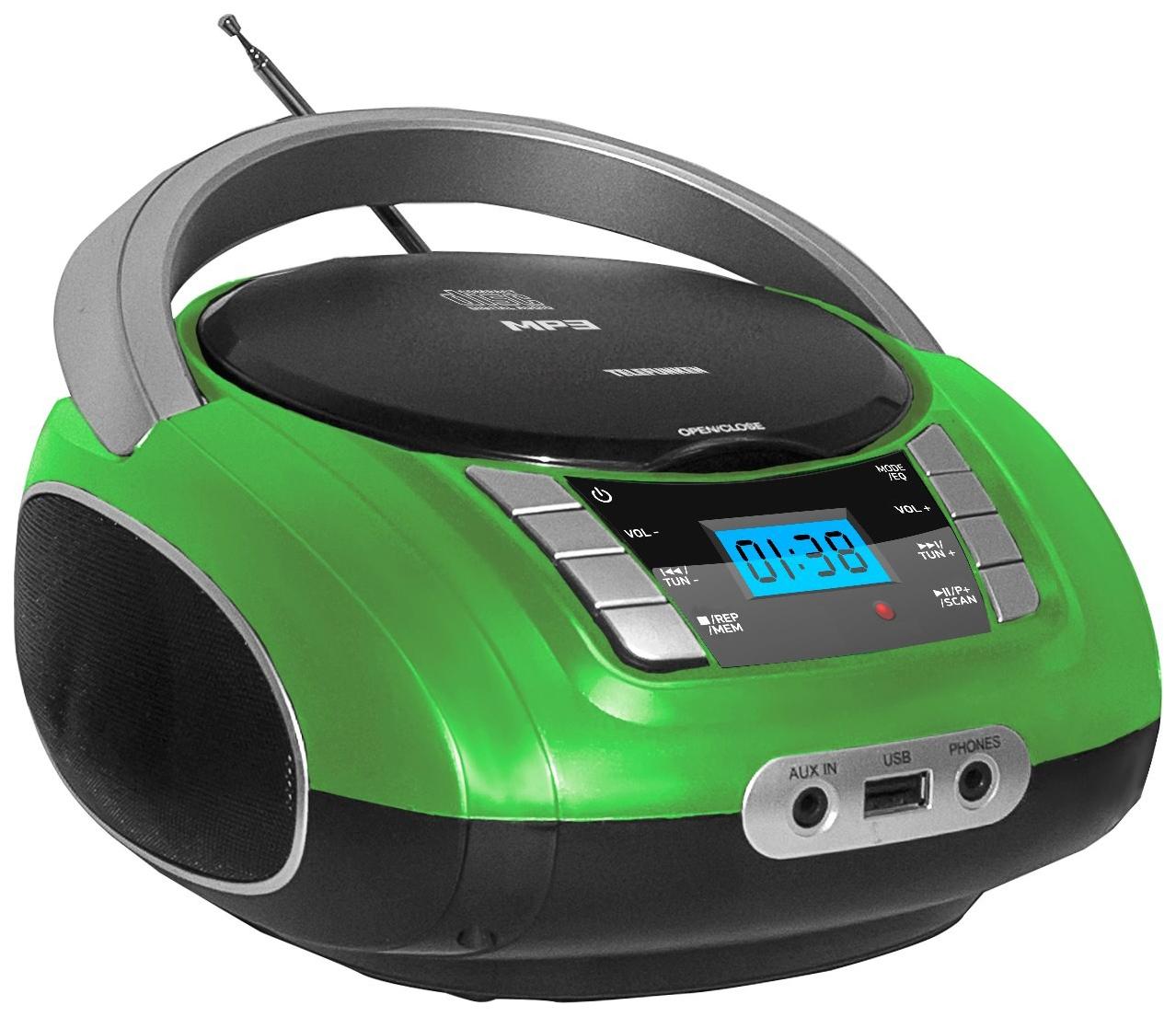 Магнитола Telefunken T00122708-04036 Зеленый