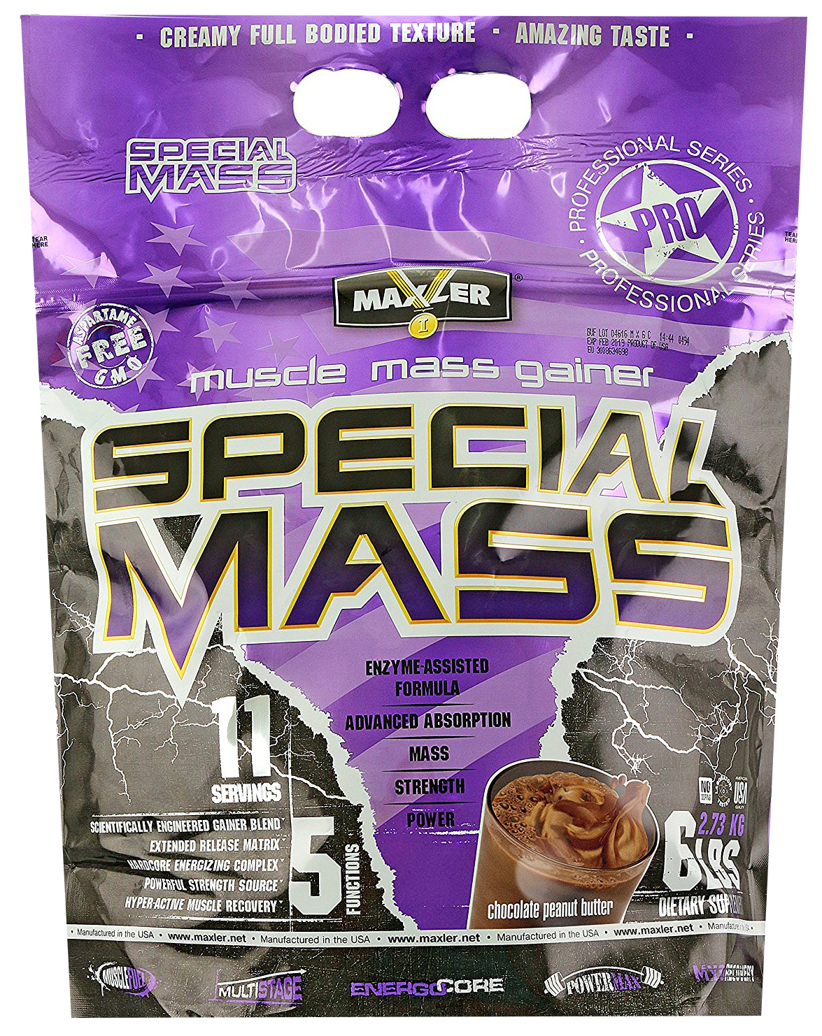 Гейнер Maxler Special Mass Gainer 2700 г Chocolate Peanut Butter
