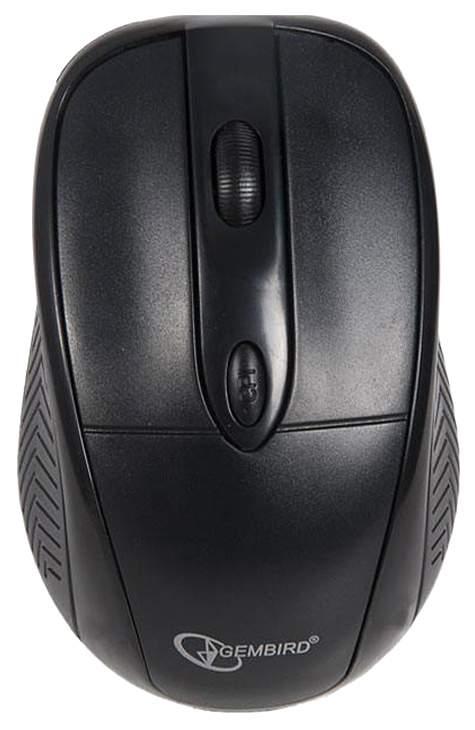 Мышь беспроводная Gembird MUSW-219 черный USB