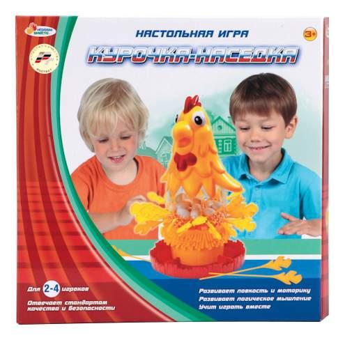 Семейная настольная игра играем вместе Курочка-наседка