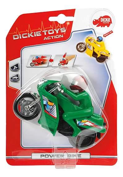 Мотоцикл Dickie Toys Power Bike 14 см