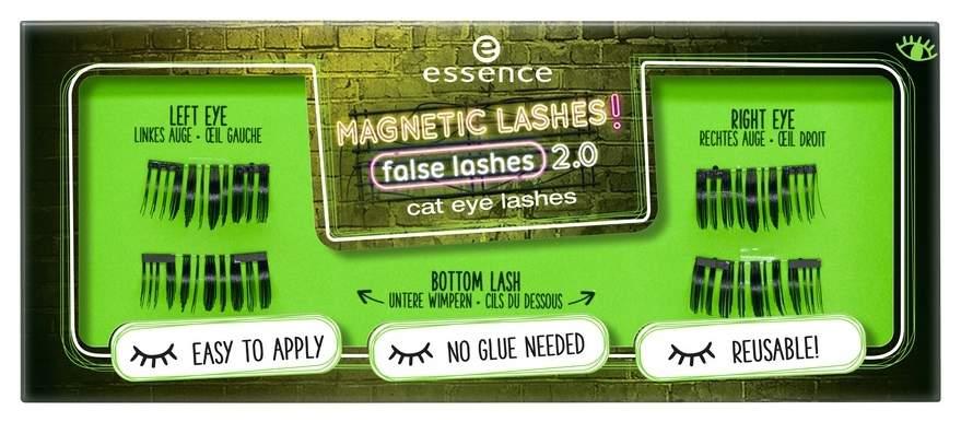 Накладные ресницы Essence Magnetic lashes! false lashes 2.0 cat eye lashes 4 шт