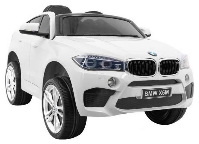 Радиоуправляемый детcкий электромобиль Jiajia Джип BMW X6 Белый