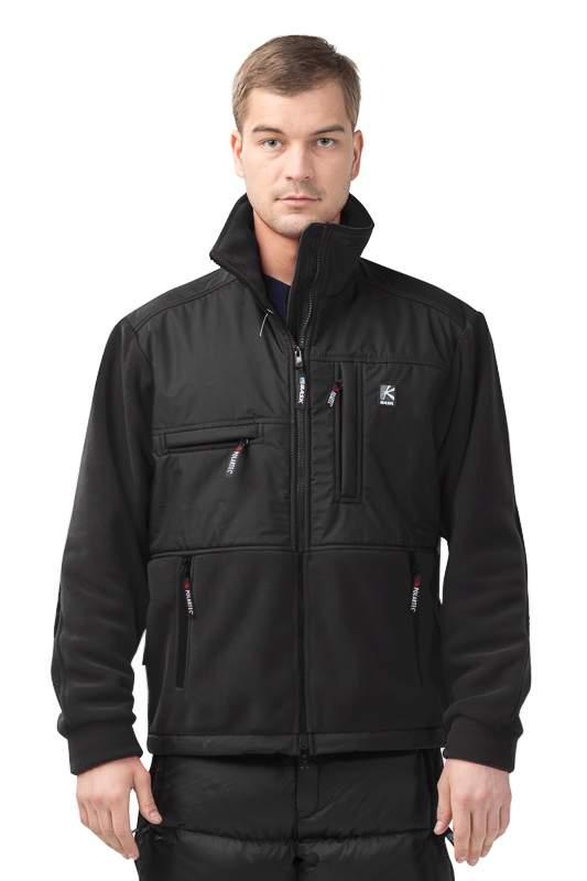 Куртка мужская Bask Stewart V2, черная, XS INT