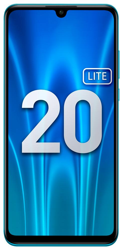 Смартфон Honor 20 Lite 4+128Gb Peacock Blue (MAR-LX1H)
