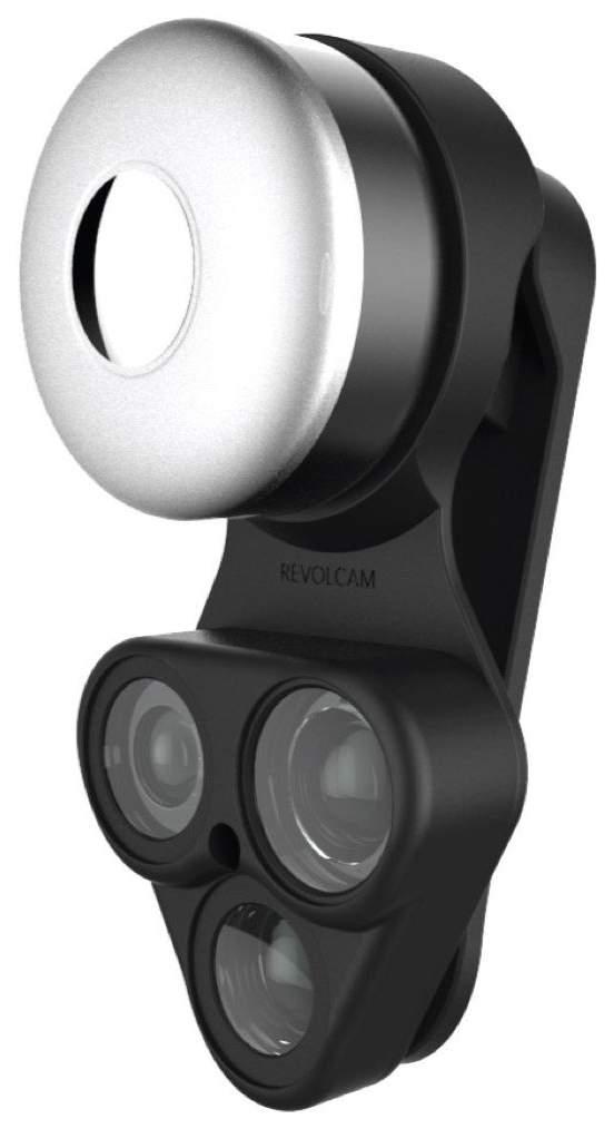 Комплект объективов для смартфона ShiftCam RevolCam 3-in-1 Black