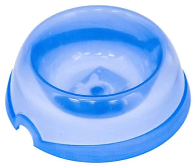 Одинарная миска для кошек Дарэлл, пластик, в ассортименте, 0.1 л