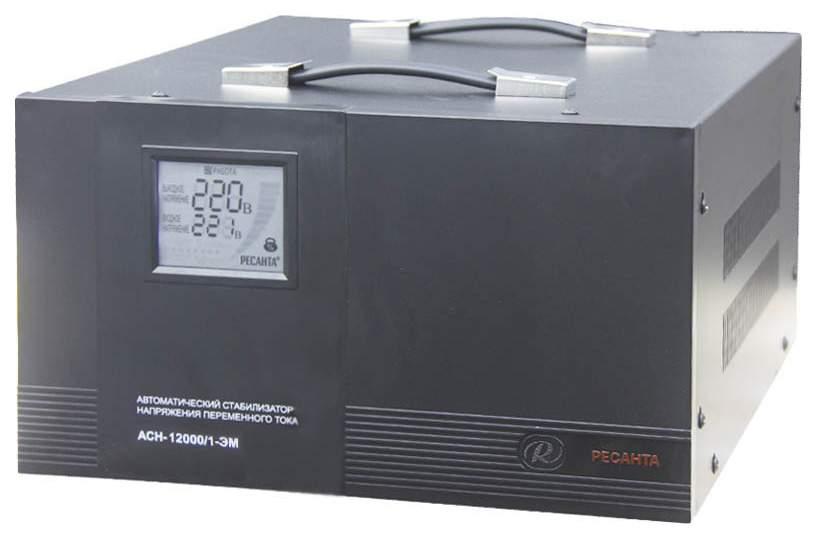 Однофазный стабилизатор Ресанта ACH-12000/1-ЭМ